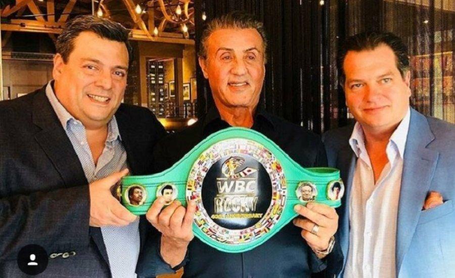 Rocky Balboa tiszteletbeli WBC bajnok lett