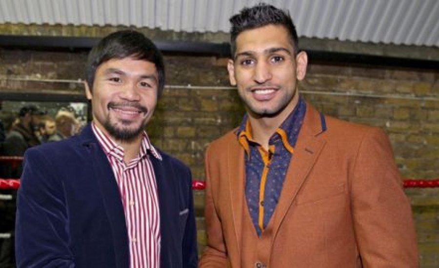 Amir Khan: Pacquiao a barátom, de legyőzőm őt