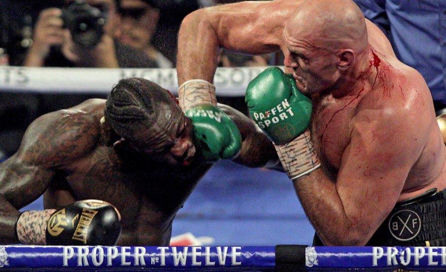 Deontay Wilder azt állítja, hogy Tyson Fury mindkét meccsükön csalt