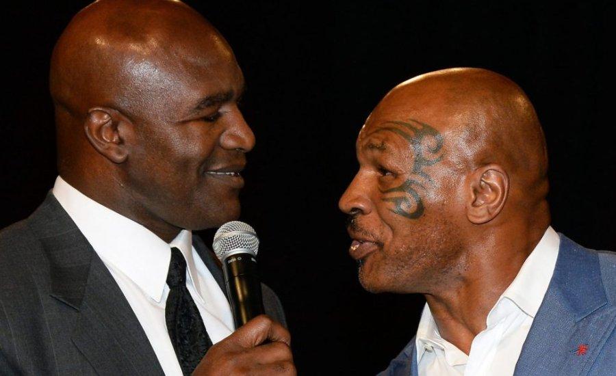 Már egyeztetnek Tyson és Holyfield harmadik találkozójáról