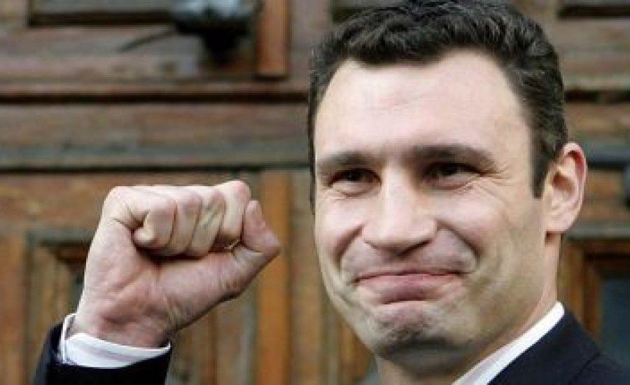 Vitalij Klicsko főpolgármester maradt