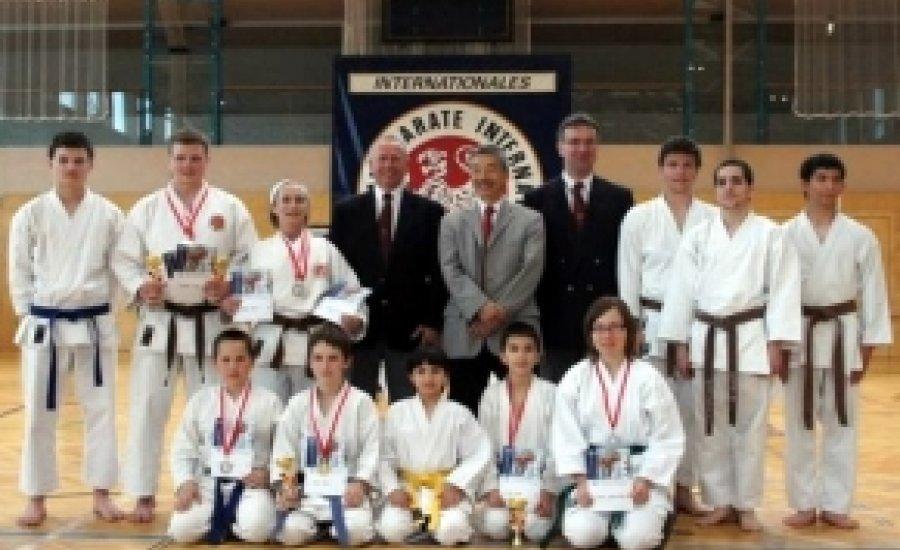 A KTSE shotokan karate sikere Ausztriában