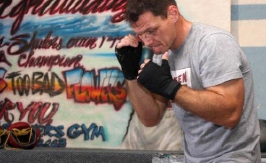 Erdei Zsolt sparring, és barátkozás a világbajnok Steve Cunningham-mel