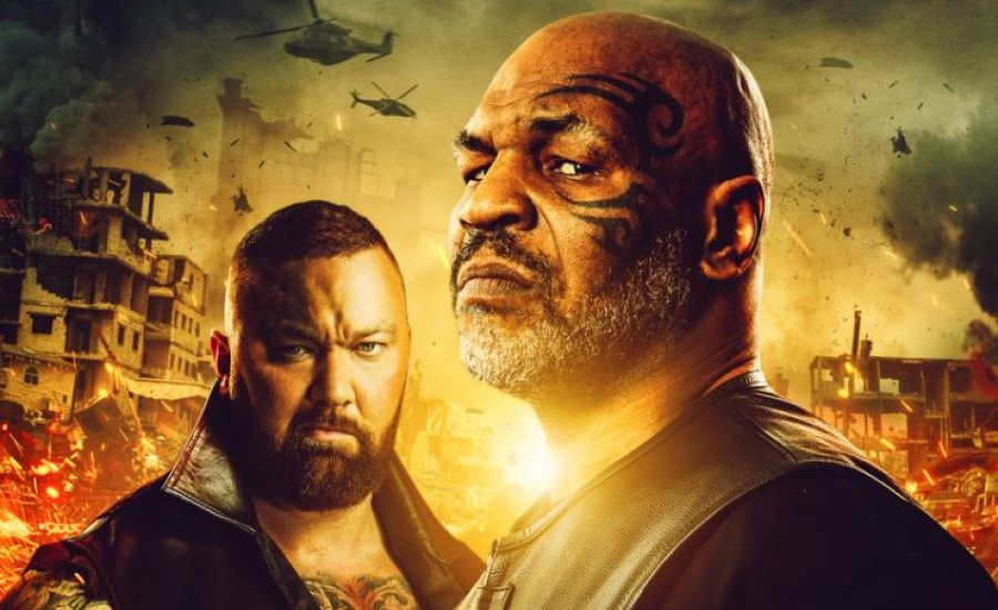 """Mike Tyson – """"Desert Strike"""" trailer"""