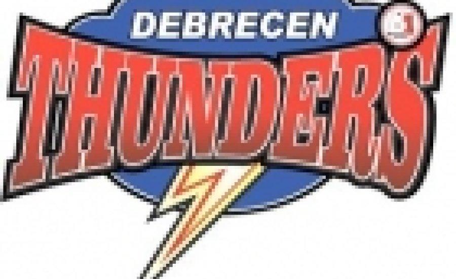 Bacskai Balázs a Debrecen Thunders B1 csapatában