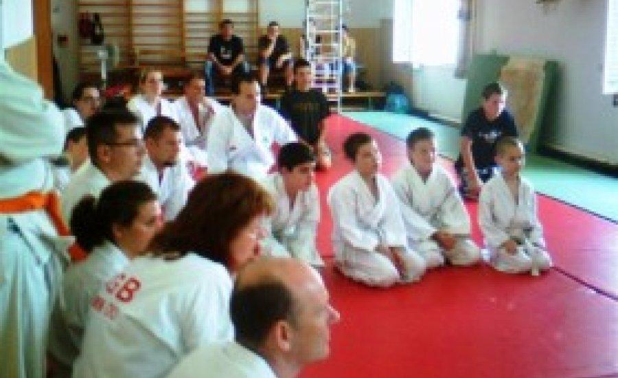Aikido övvizsga Békéscsabán