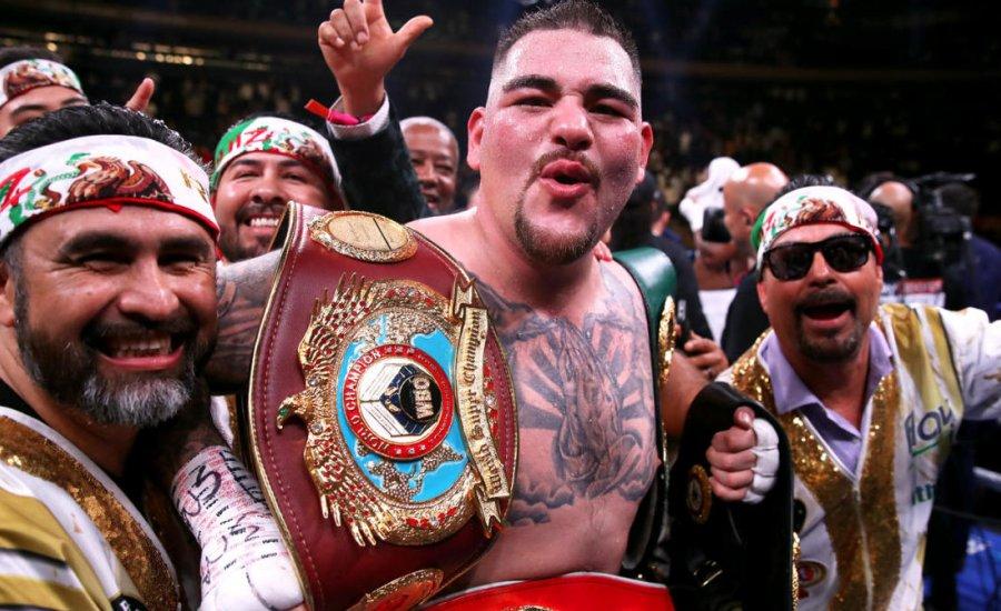 Andy Ruiz Jr már 140 kiló volt, amikor elkezdte a felkészülést a visszatérésre