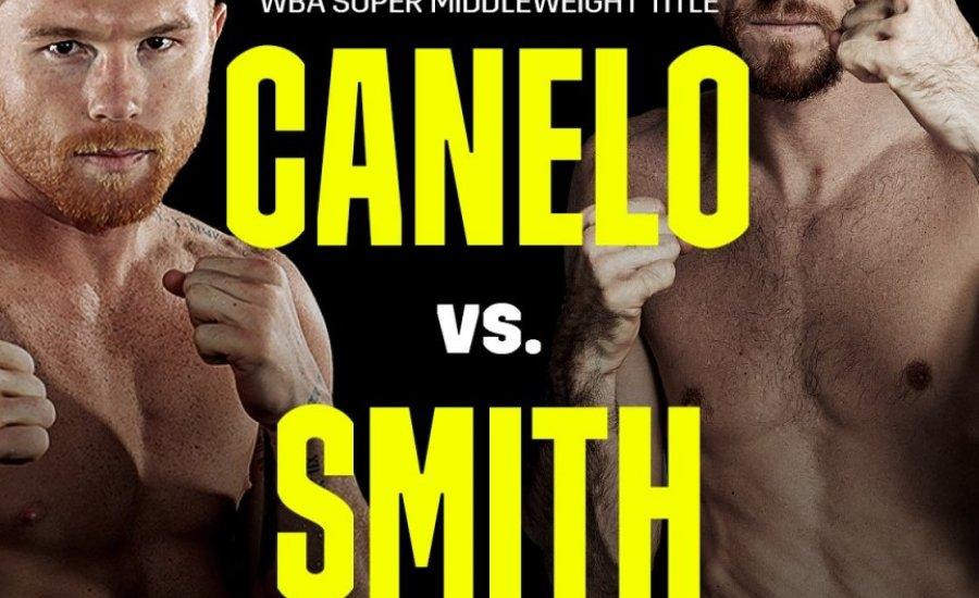 Hivatalos a Canelo/Smith összecsapás