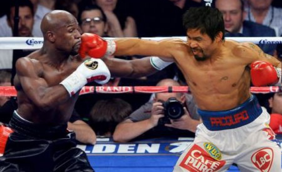 Floyd kihívta Pacquiaót, de