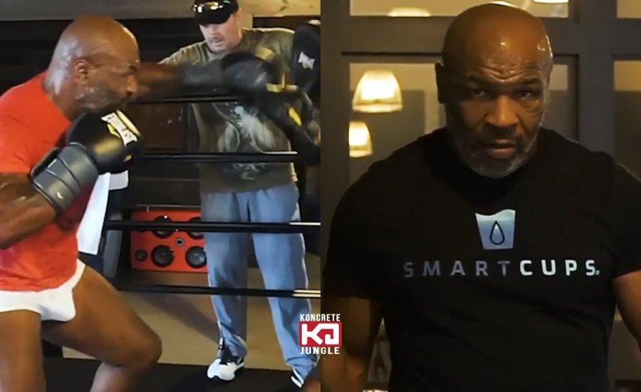 Fantasztikus új edzésvideó a visszatérő Mike Tyson-ról!