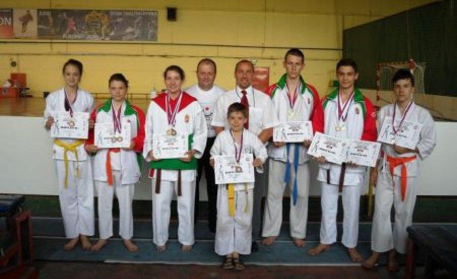 Magyar karatés sikerek Szerbiában