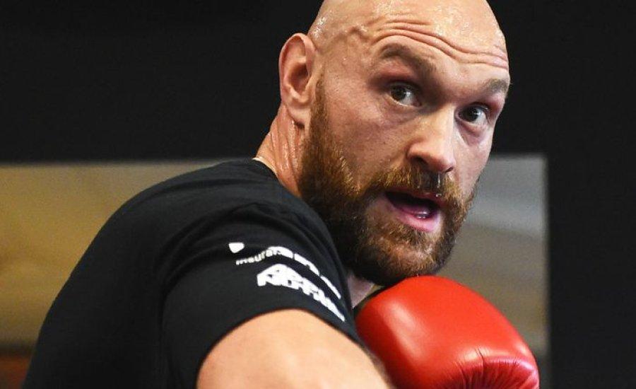 Tyson Fury leállt az edzésekkel