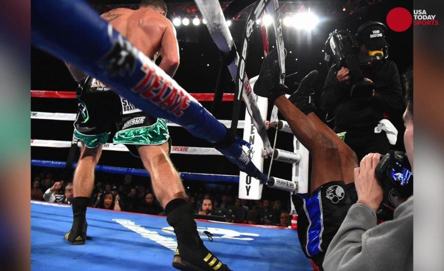 Bokszolók, akik küzdelem közben kiestek a ringből