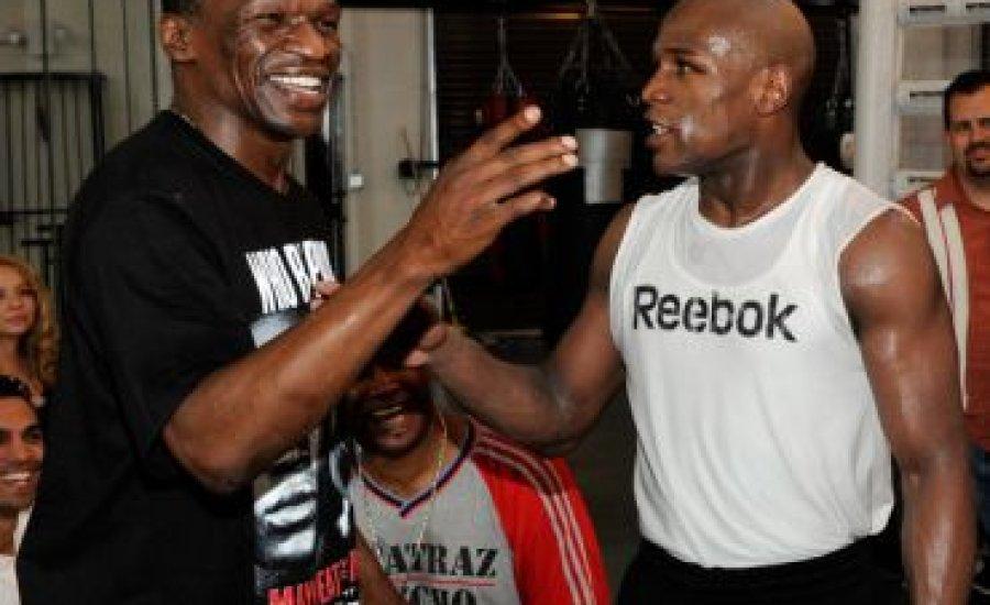 Apja szerint nincs oka Floyd-nak visszatérni