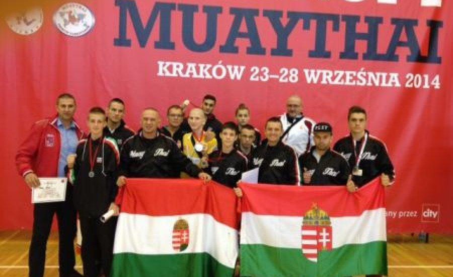 Bevették a magyar Muay Thai harcosok Krakkót