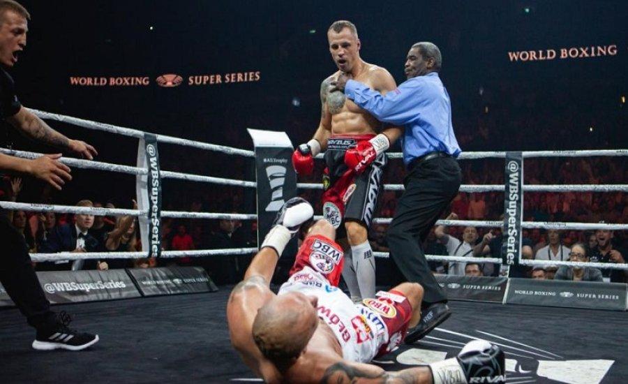 Nem lesz visszavágó, Briedis-t megfosztották a WBO övtől