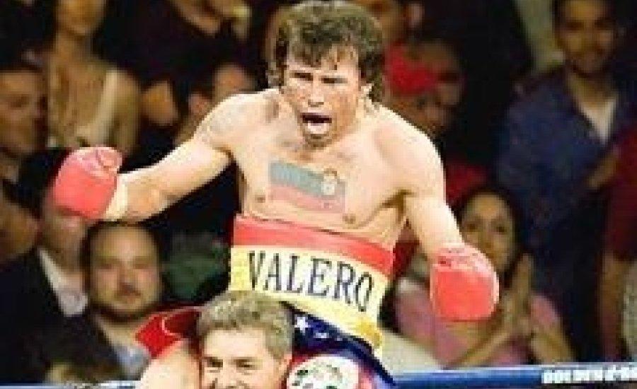 Edwin Valero 25. kiütéses győzelme