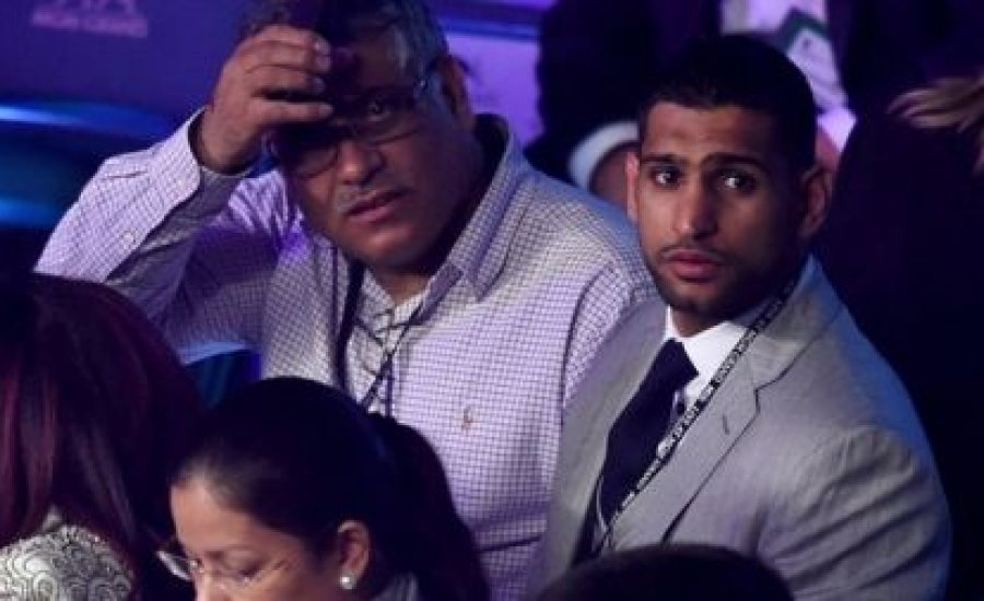 Amir Khan: Floyd velem akar bokszolni