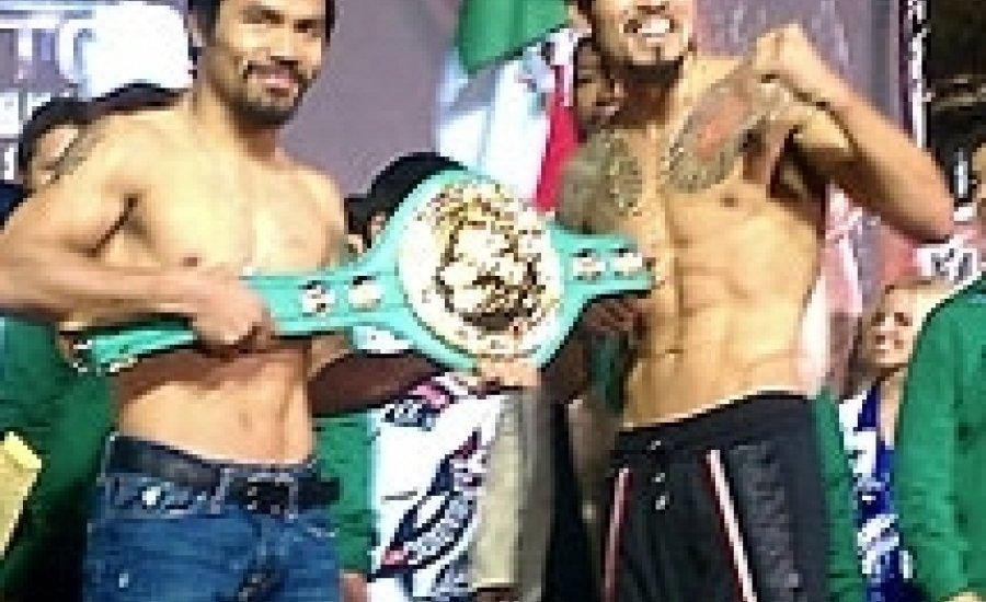 Manny Pacquiao nem érte el a súlyhatárt!