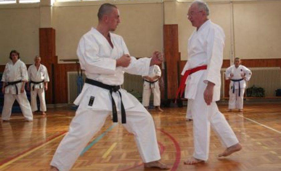 Kesic Bogdan nagymester karate szemináriuma Békéscsabán