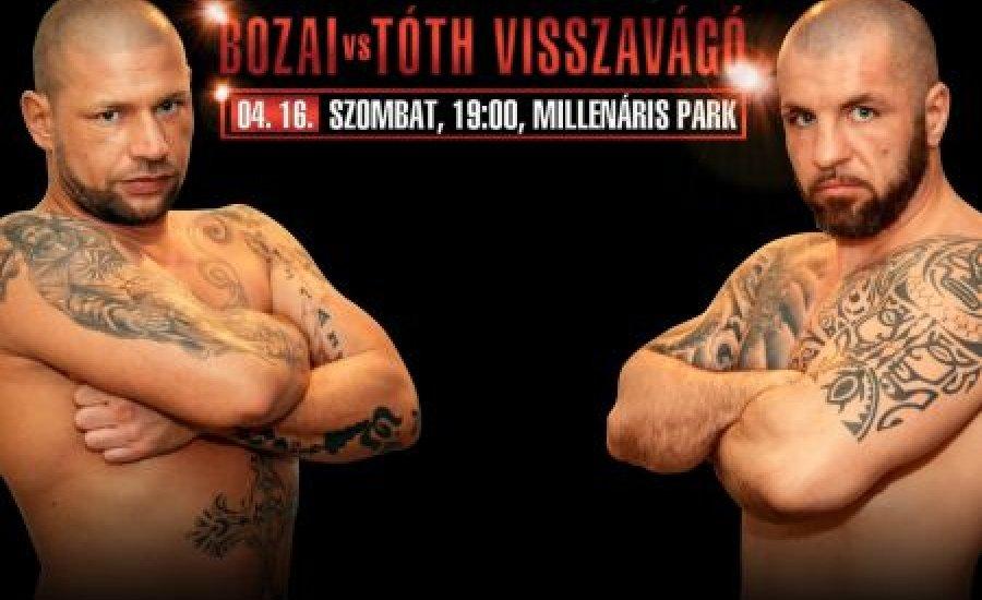 Bozai - Tóth a magyar bajnoki címért