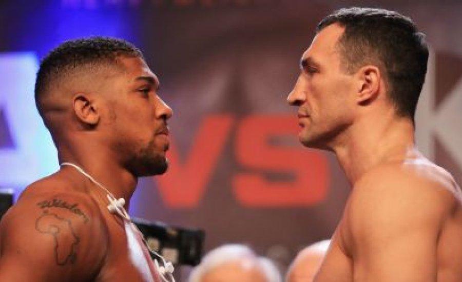 Joshua - Klicsko: Az év bokszmeccse a Sport TV-n