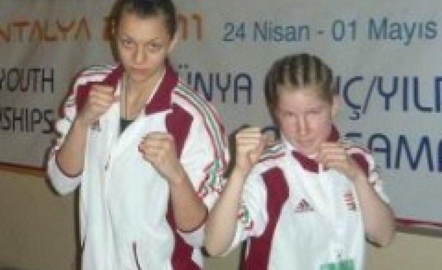 I. Junior és Ifjusági Női Ökölvívó Világbajnokság - Csősz érmes