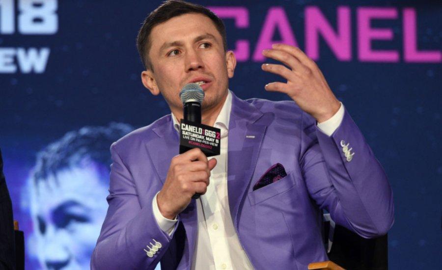 Golovkin csak áprilisban lép ringbe
