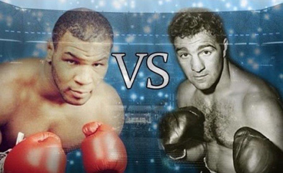 Szikla kontra Vas, avagy Marciano vs Tyson