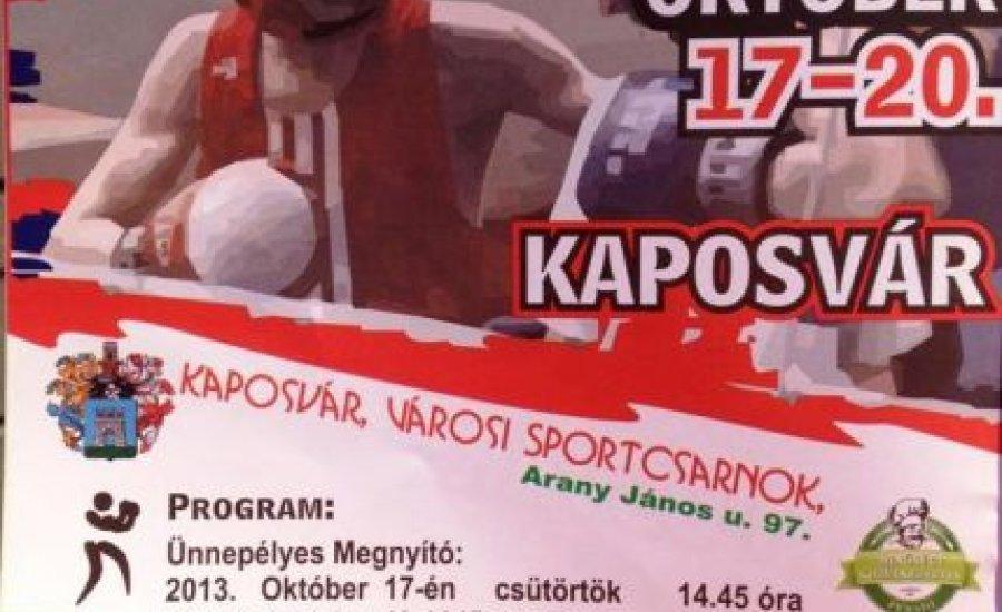 Csütörtöktől junior OB Kaposváron