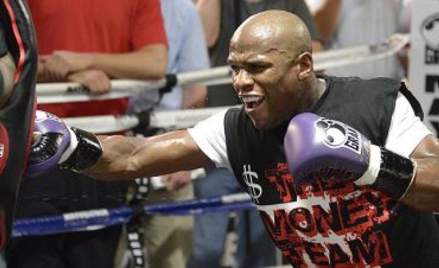 Floyd keményebben készült, mint Pacquiao ellen
