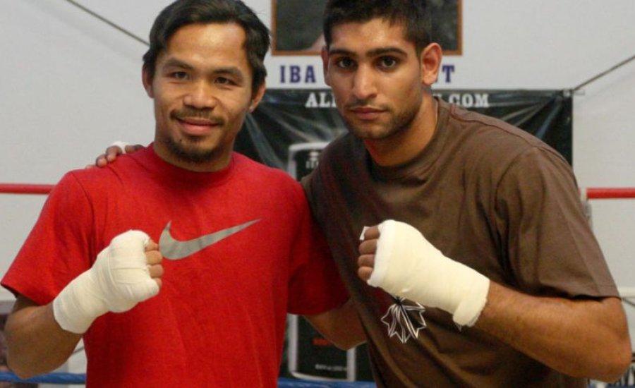 Pacquiao nyitott egy Amir Khan elleni küzdelemre Dubai-ban