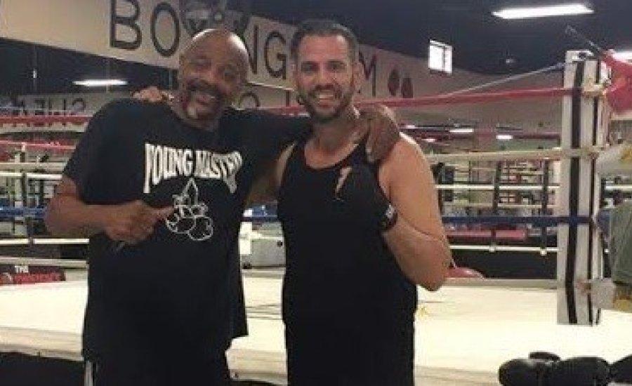 Mike Tyson trénerével edzett Peru