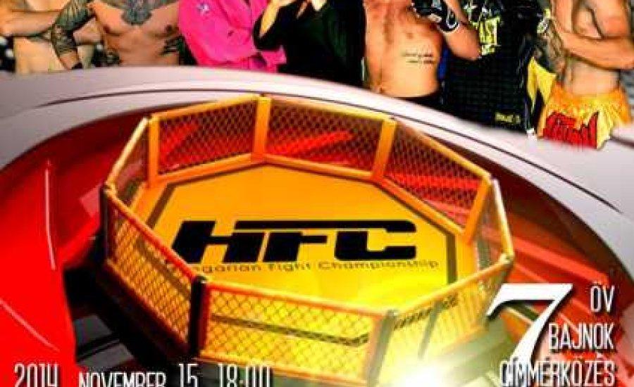 HFC szezonzáró MMA-gála szombaton