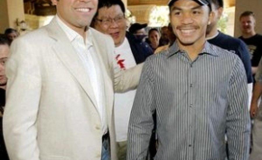 "Pacquiao ""lerendezte"" a Golden Boy elleni becsületsértési pert"