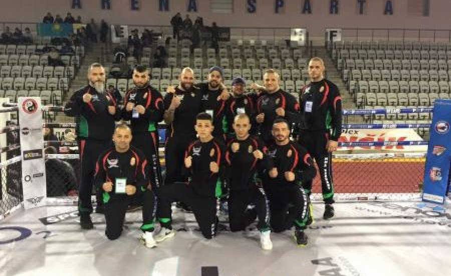 Legjobb nyolcig jutottak a magyarok az MMA-vb-n