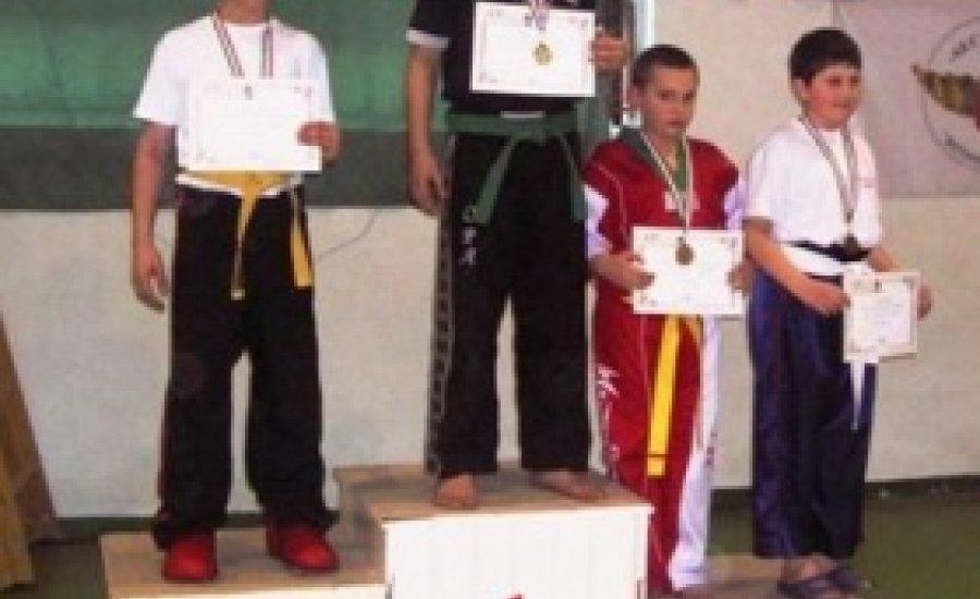 Kick boksz: Sikert aratott a Diákolimpia