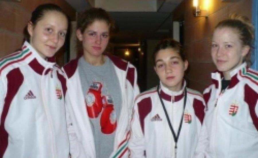 Elkezdődött a junior és ifi női boksz Eb