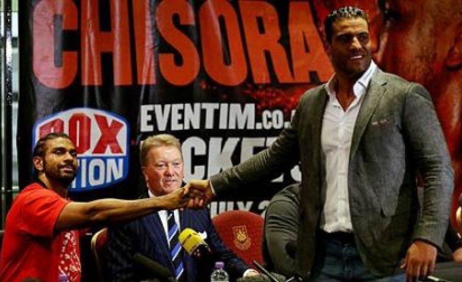 David Haye Charr ellen bokszol, és a Matchroom-mal szerződött