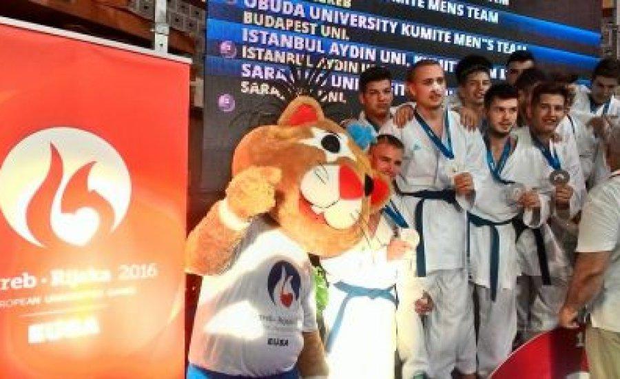 Karatés érmek az Európai Egyetemi Játékokon