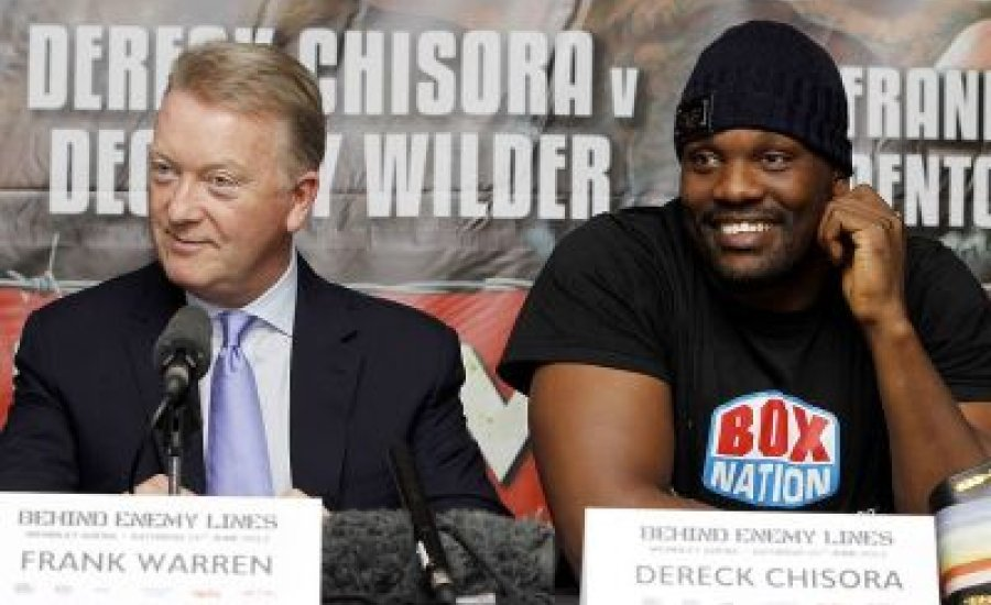 Chisora Londonban tesztelheti Wildert