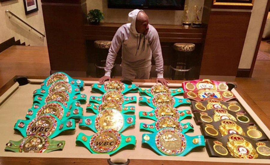 Floyd Mayweather: Nagyobb vagyok, mint Ali és Marciano