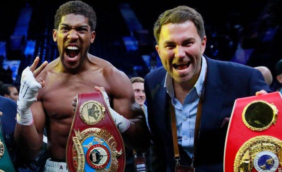 Anthony Joshua december 5-én vagy 12-én bokszol