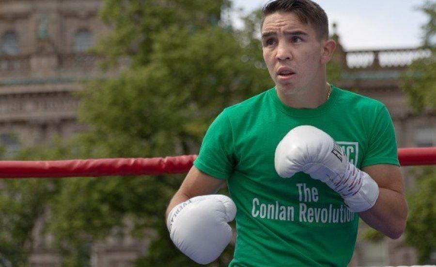Conlan győzelemre készül a kemény argentin ellen