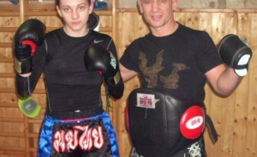 Éltető Daniella egyetlen magyar nőként a Muay Thai EB-én