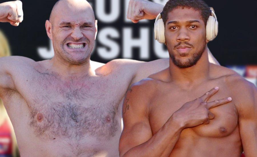 Anthony Joshua hat menetet, Tyson Fury csak egyet adna a másiknak