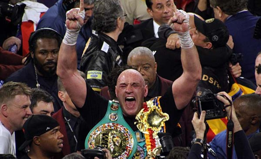 Tyson Fury: az én estém volt, de képes vagyok még jobban is bunyózni