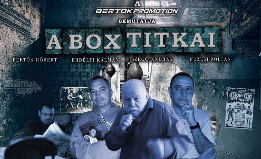 """Rajtol a """"Box Titkai - Box Történelem"""" videósorozat"""