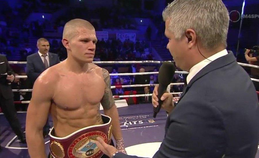 Kis Máté remek mérkőzésen lett a WBO interkontinentális bajnoka
