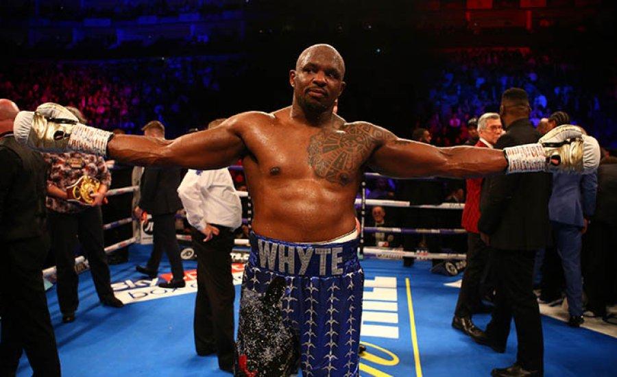 Dillian Whyte is bokszol a Ruiz-Joshua gálán